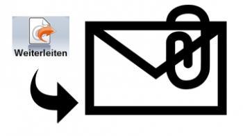 So leiten Sie eine E-Mail weiter